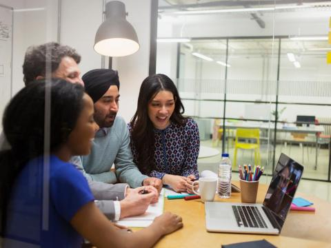 Welcome new methods of working and communicating, and offer your own suggestions to improve team productivity