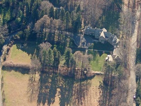 Trump's Westchester estate.
