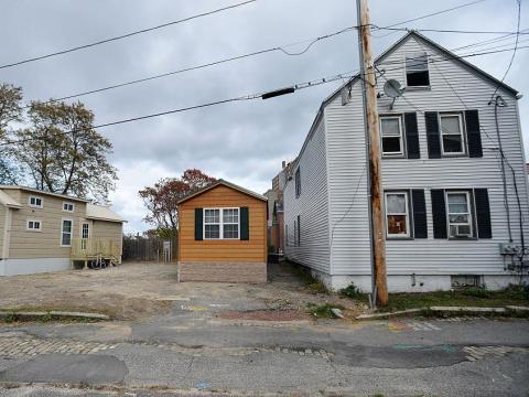 Pequeñas casas en Portland, Maine.