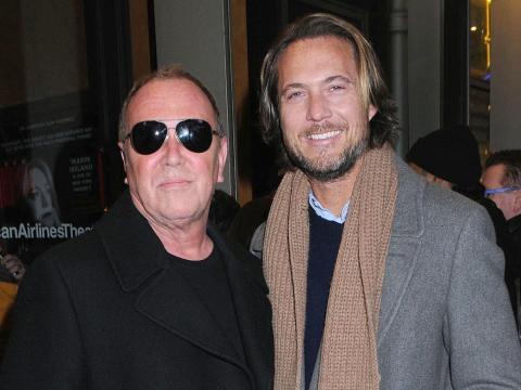 Kors (izquierda) y su marido Lance LePere (derecha).