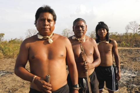 The Xavante have lived on this land for 200 years.
