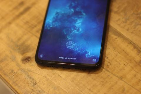 Xiaomi Mi 9 Lite sensor huellas