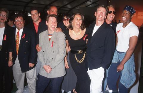 Kors con Isaac Mizrahi, Oscar de la Renta, Todd Oldham, Anna Sui, Donna Karan y Calvin Klein.