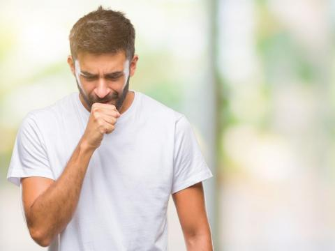 Chemicals in vapes could irritate your throat.
