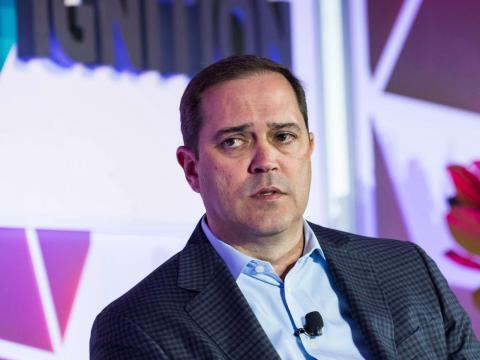 32. Chuck Robbins, Cisco Systems