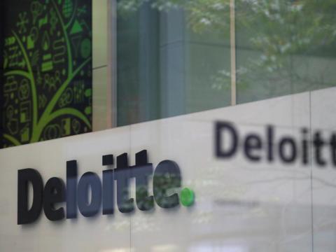FOTOS DE ARCHIVO: Las oficinas de Deloitte en Londres