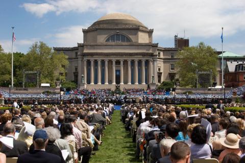 Universidad de Columbia, Nueva York, EEUU.