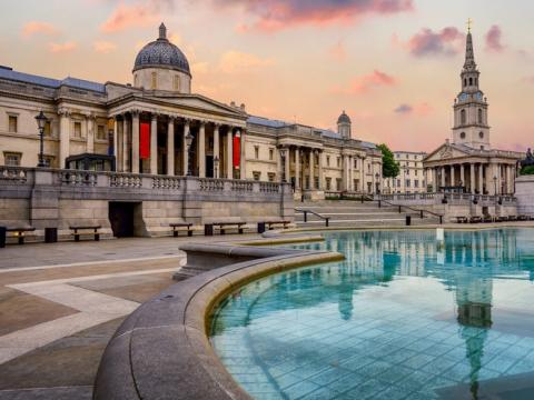 8. National Gallery - Londres, Reino Unido
