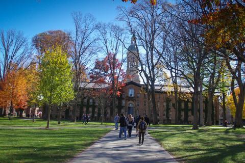 Universidad de Princeton, Nueva Jersey, Estados Unidos.