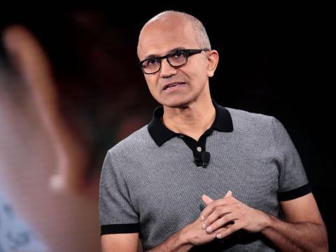 9. Satya Nadella, Microsoft