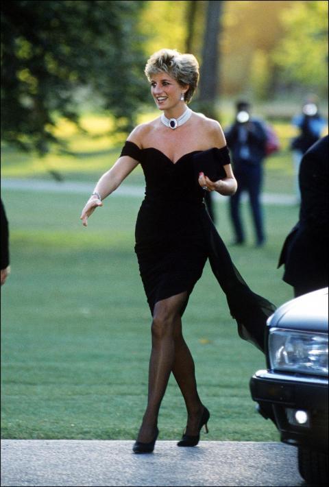 """""""Vestido de Venganza"""" de la Princesa Diana."""