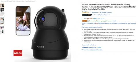 Amazon-recommended security cameras are highly vulnerable to hacking, finds new study