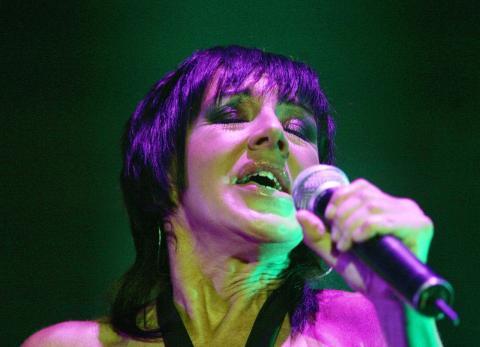 Ana Torroja, durante un concierto en 2006
