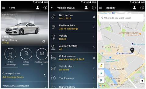 Aplicación de Mercedes-Benz en España: MercedesMe