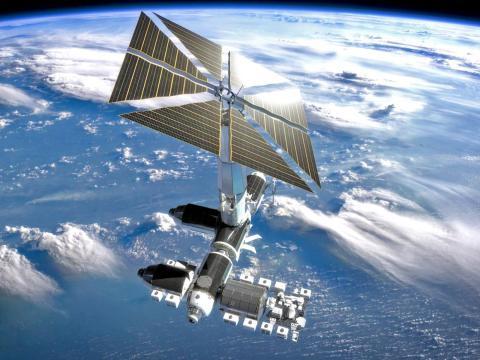 Estación espacial privada de Axiom que sustituiría a la EEI.
