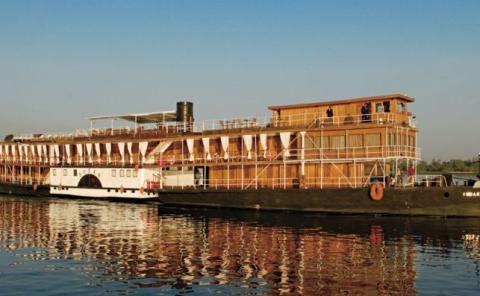 El barco de vapor de Agatha Christie
