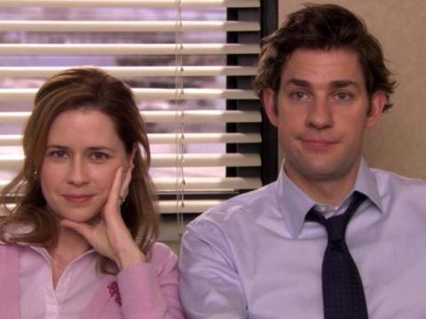 Pam y Jim eran amigos mucho antes de ser pareja.