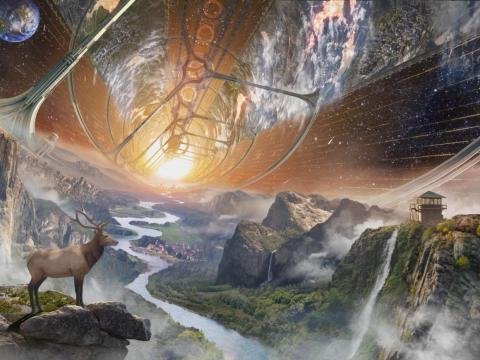 Así podrían ser los nuevos planetas poblados por el ser humano.