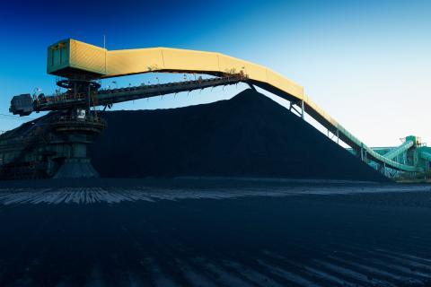 Una mina de carbón de BHP en Australia