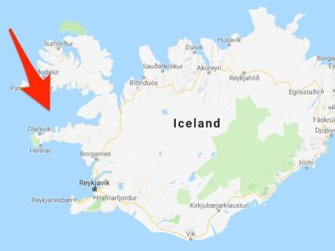 Flatey es una de las 3.000 islas que se encuentran en la bahía de Breiðafjörður.
