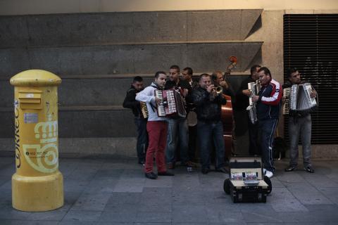 Buzón de Correos en Madrid