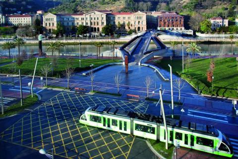 Campus de Bilbao de la Universidad de Deusto.