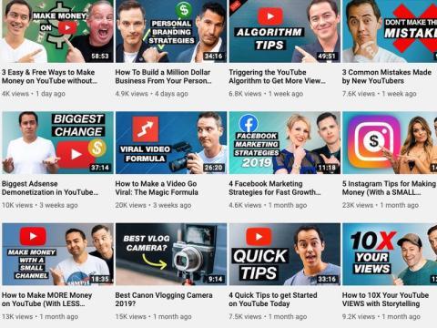 El canal de YouTube de Video Influencers tiene 532.000 suscriptores.