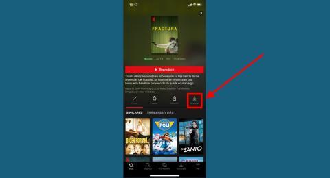 Cómo ahorrar datos al ver películas o series en Netflix a través la descarga de contenido