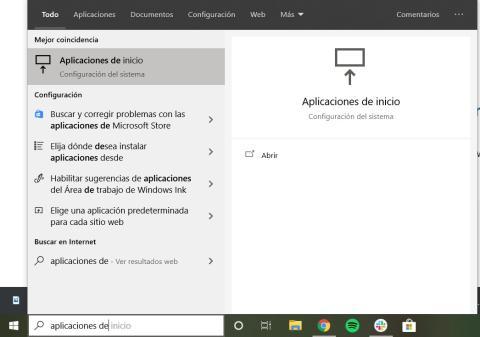 Cómo eliminar programas que se inician de forma automática en Windows 10 a través de la Aplicación de Inicio