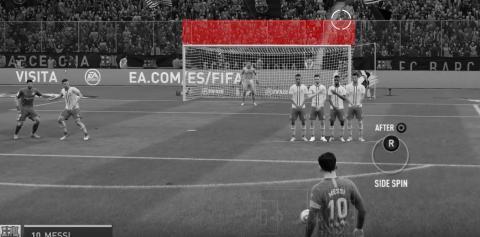 Cómo lanzar faltas en FIFA 20 por encima de la barrera