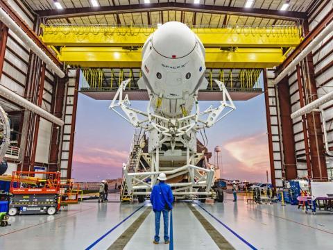 La cápsula Crew Dragon de SpaceX