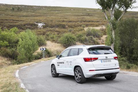 Connected Car frente a un dron