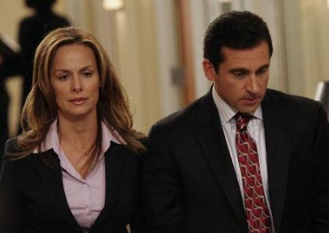 Jan tenía su poder sobre Michael, y él a menudo compartía detalles privados sobre su relación con la oficina.