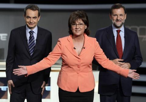 Debate Zapatero Rajoy 2008