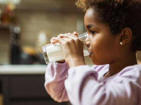 Tomar leche es la única manera de fortalecer los huesos.