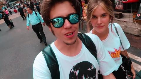 elRubius y su novia Irina