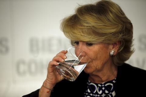 Esperanza Aguirre, expresidenta del PP de Madrid.