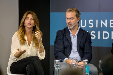 Esther Ruíz y José Mª Moreno.