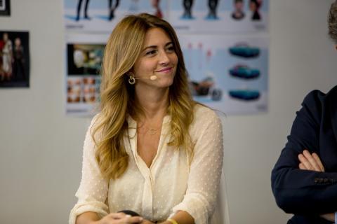 Esther Ruiz, portavoz y diputada de la Comisión de Cultura de la Asamblea de Madrid