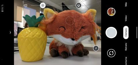 Así es como se ve la interfaz de la cámara del Google Pixel 4 XL