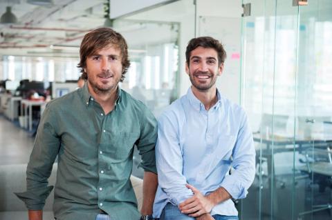 Pablo Carro y Pedro Clavería, fundadores de Playtomic