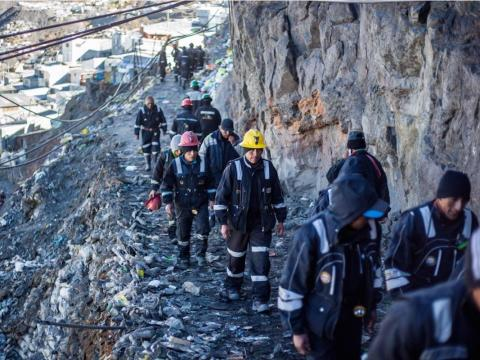Gold has been mined in the Andes for centuries, with mining activity dating as far back as the Incas. People in La Rinconada hike for 30 minutes every day to reach the mines, which are filled with hazardous gasses, mercury,