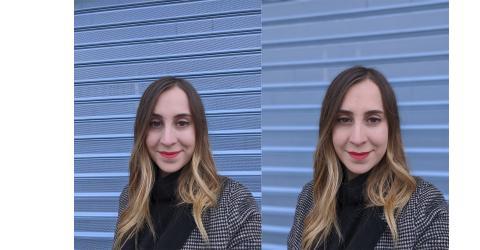 Google Pixel 4 XL selfie