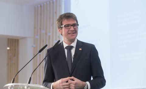 Gorka Urtaran, alcalde de Vitoria