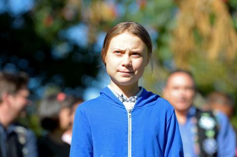 Greta Thunberg solo tiene 16 años, pero se ha convertido en la cara del activismo que protesta contra el cambio climático.