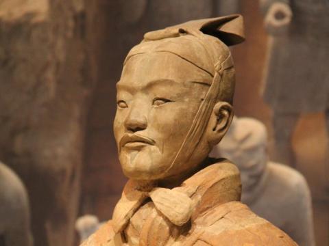 Guerrero de Terracota Qin.
