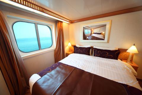Habitación de un crucero