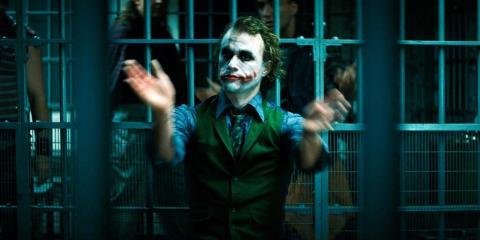 """Heath Ledger ganó un Oscar por su papel en """"El Caballero Oscuro""""."""