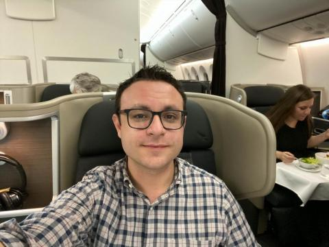 I flew on Qantas' 'Project Sunrise,' a nonstop flight from New York to Sydney, Australia, which took almost 20 hours and covered nearly 10,000 miles — here's what it was like