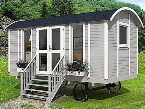 Si usted está sintiendo una vibración más de Oregon Trail wagon, Allwood inexplicablemente ofrece una pequeña casa inspirada en ello. El Allwood Mayflower cuesta 7.000 euros, y la lista dice que sólo se necesitan dos días para construirla.